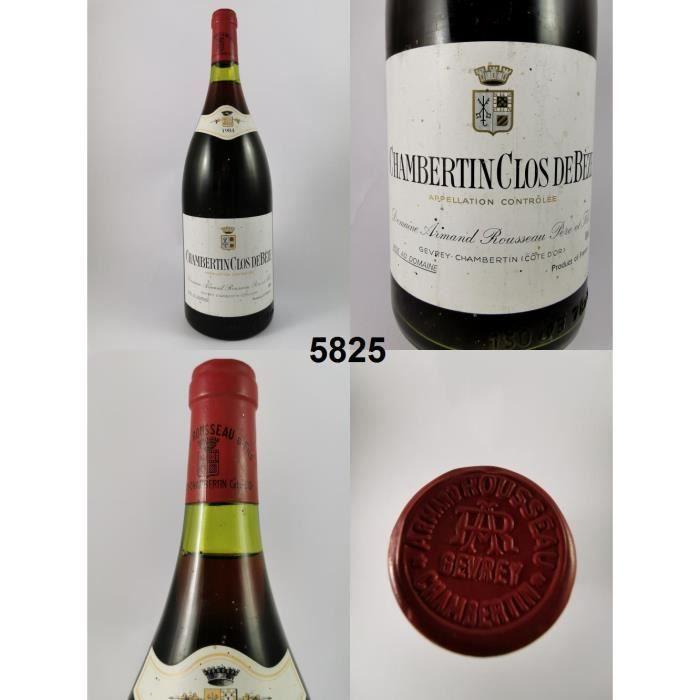 Chambertin - Clos de Bèze - Rousseau (Magnum) 1984 - N° : 5825, Chambertin - Clos de Bèze, Rouge