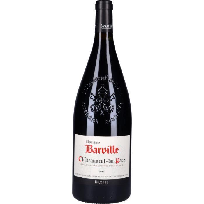 Vin Rouge - Châteauneuf-du-Pape Domaine de Barville 2015 - Magnum 150cl