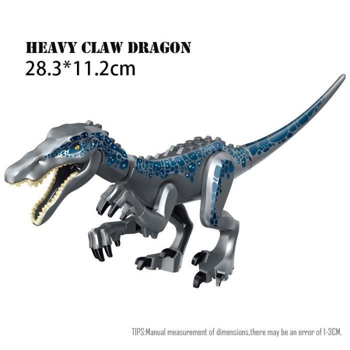Figurines de dinosaures Jurassic World 2, jouets à assembler, modèles dinosaure T Rex Indominus i-rex, cadeau pour [DFCF2E6]