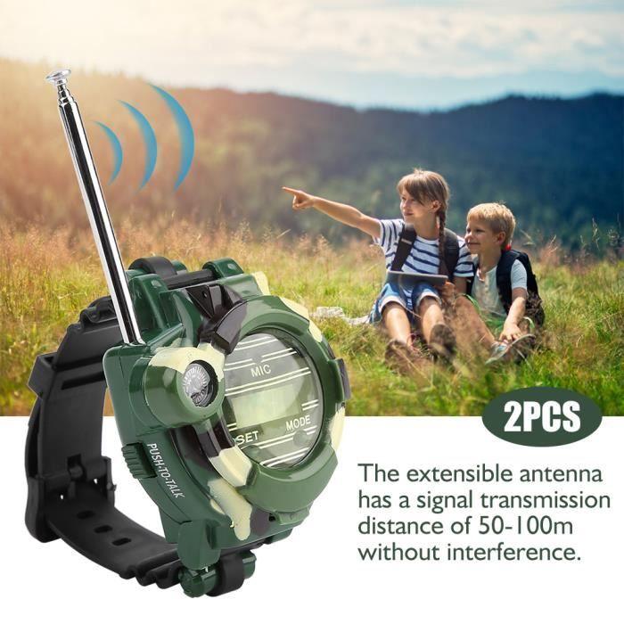 Talkie walkie pour enfant de montre haut parleur pas cher sécurité sport de chantier fille garçon accessoire-RAI