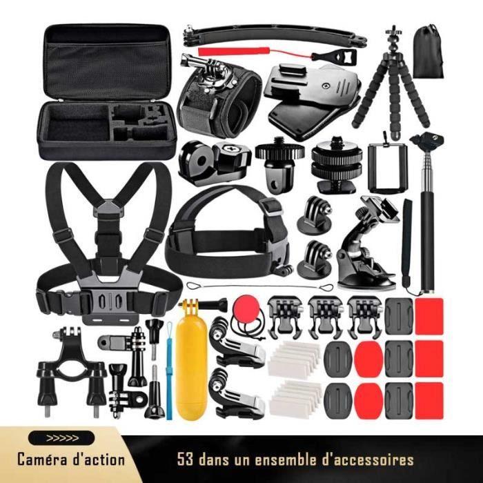 E-thinker 53 en 1 Action Caméra Kit d'Accessoires pour GoPro Hero