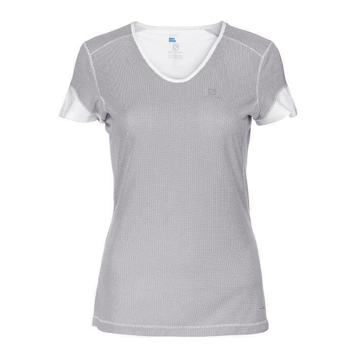 SALOMON T-shirt de running - Femme - Blanc