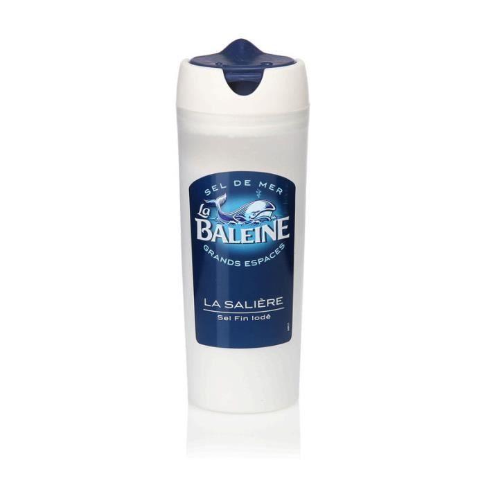 LA BALEINE Sel de mer La Baleine - 125 g