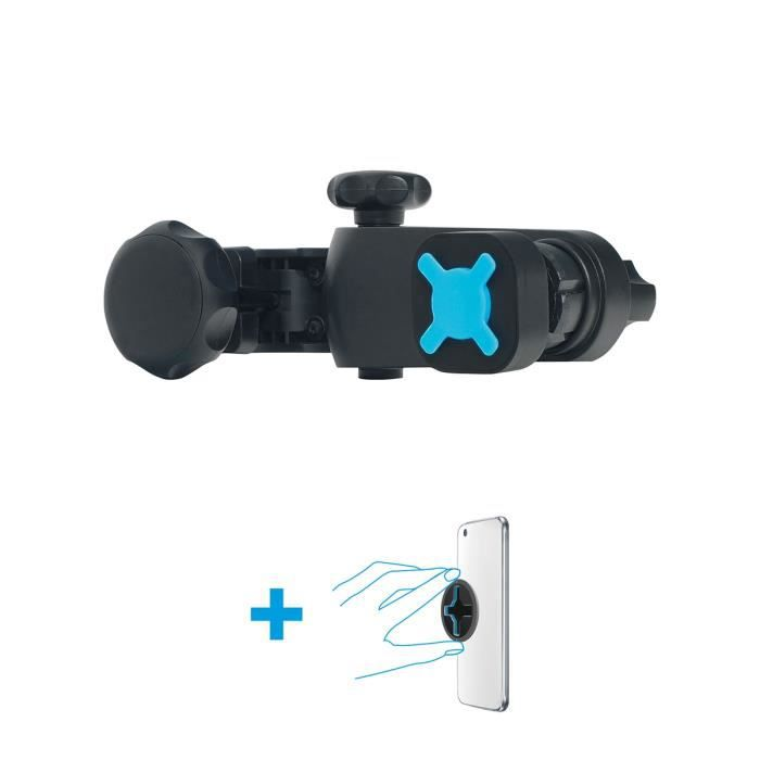 MOBILIS U.FIX Support appui-tête véhicule pour tablette/smartphone Universel Noir