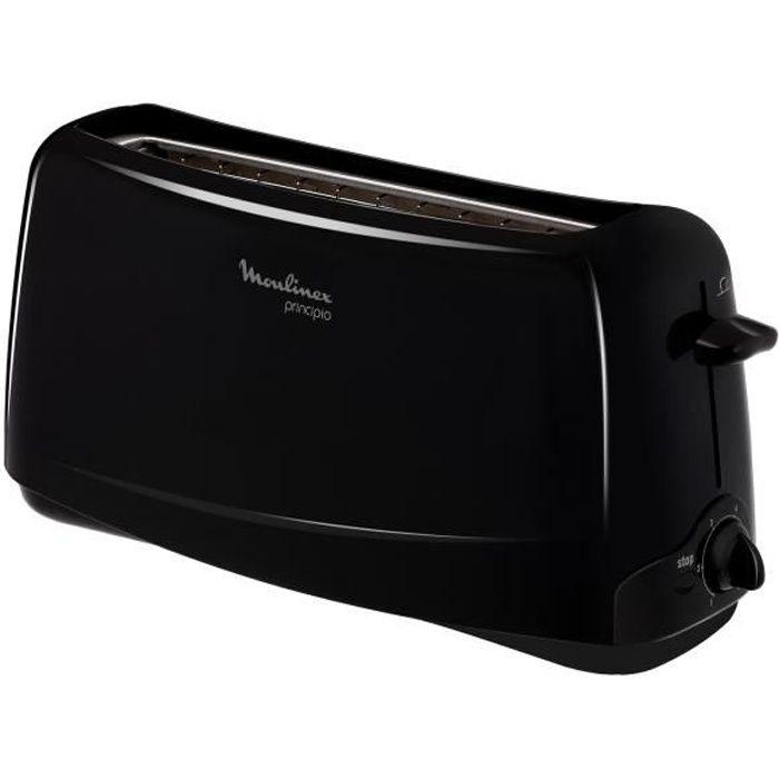MOULINEX TL110800 Grille-pain Principio - Noir