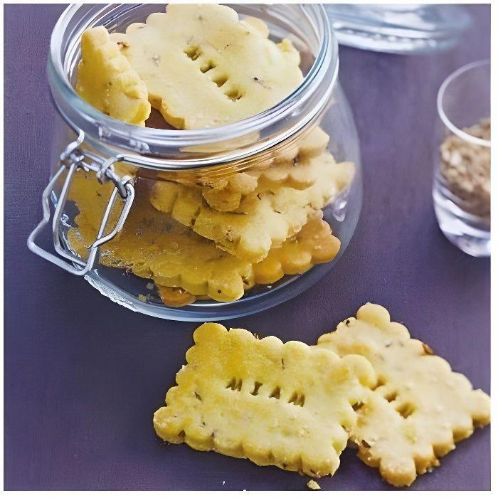 Coffret création de biscuits personalisés tampons, réglette, emporte-pièces, 1 petit livre
