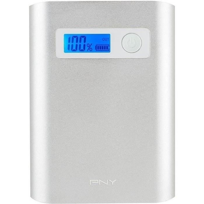 Pny Power Bank 7800 mAh - Alu Digital Batterie de secours