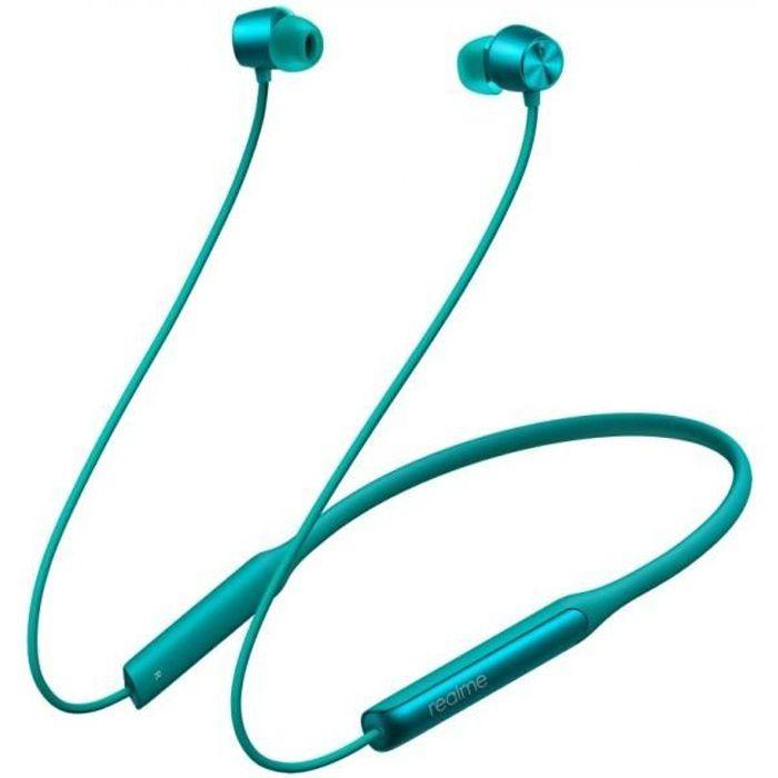 OPPO Realme Buds Wireless Pro Vert écouteur sans fil bluetooth 5.0 Suppression active du bruit Sony LDAC Audio haute résolution