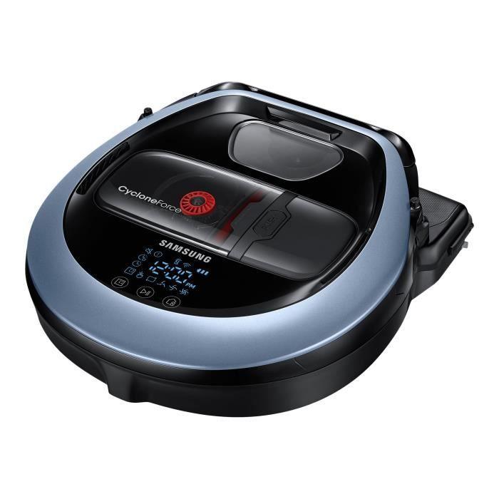 Samsung POWERbot VR7000 Aspirateur robot sans sac bleu satin