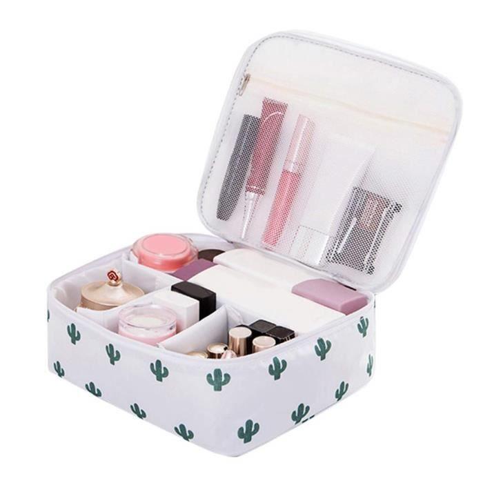 @M5448 Rameng Trousse de Toilette Femme Voyage Grande Capacité Sac de Toilettes Cosmetiques Maquillage pour Voyage (F)