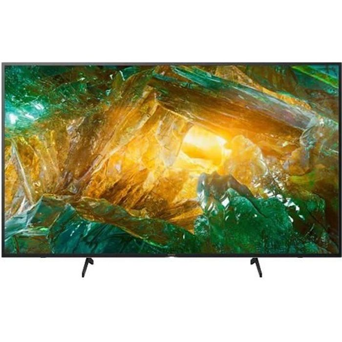 TV intelligente Sony Bravia KD49XH8096 49- 4K Ultra HD LED WiFi Noir
