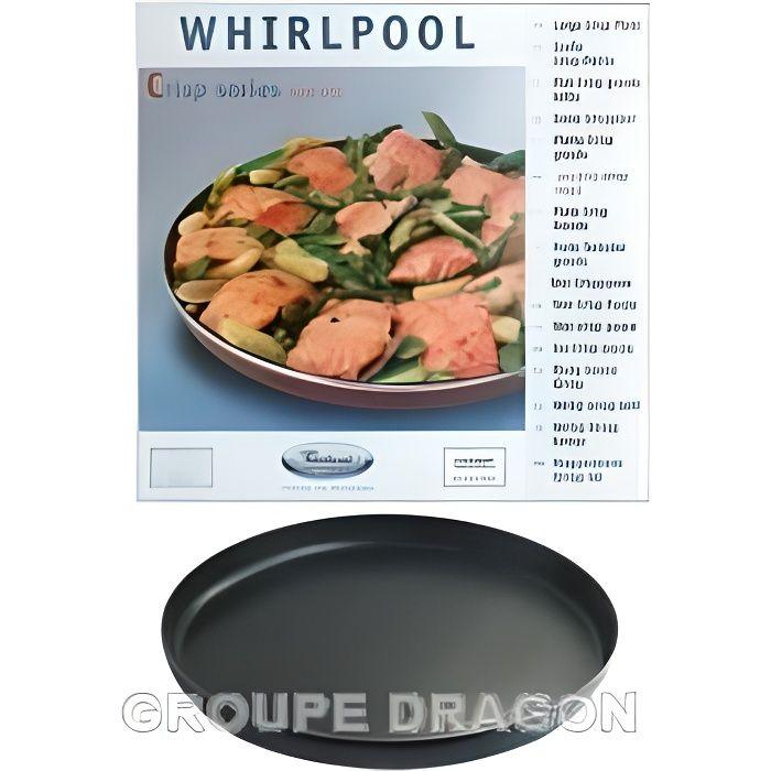 Plat crisp ø 32cm pour m.o whirlpool jet pour m…