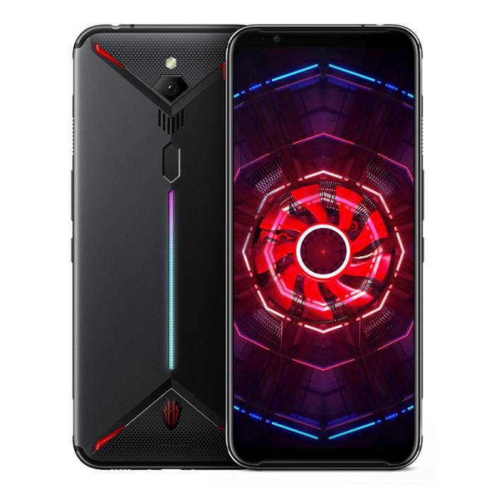 ZTE nubia Red Magic 3 Smartphone 6Go 128Go Téléphone Mobile 6.65- Caméra 48MP+16MP 5000mAh Noir