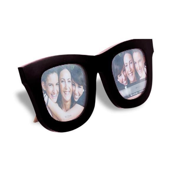 CADRE PHOTO Cadre photos lunettes de soleil original blanc
