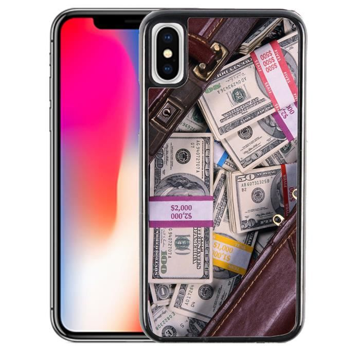 coque iphone x dollar