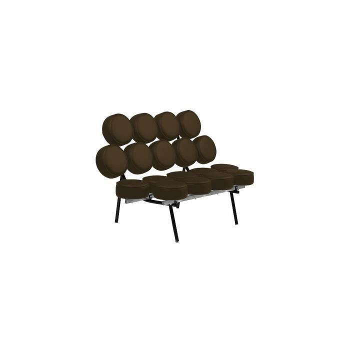 Canap design marchmallow inspir george nelson 2 achat for Canape nelson