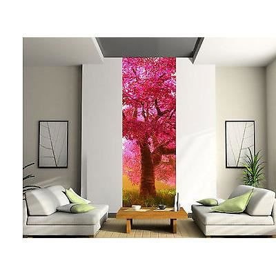 papier peint d co l unique arbre japonais r f 2057 3. Black Bedroom Furniture Sets. Home Design Ideas