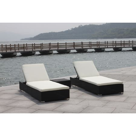 bain de soleil en r sine tress e lit de pisci achat vente chaise longue bain de soleil en. Black Bedroom Furniture Sets. Home Design Ideas