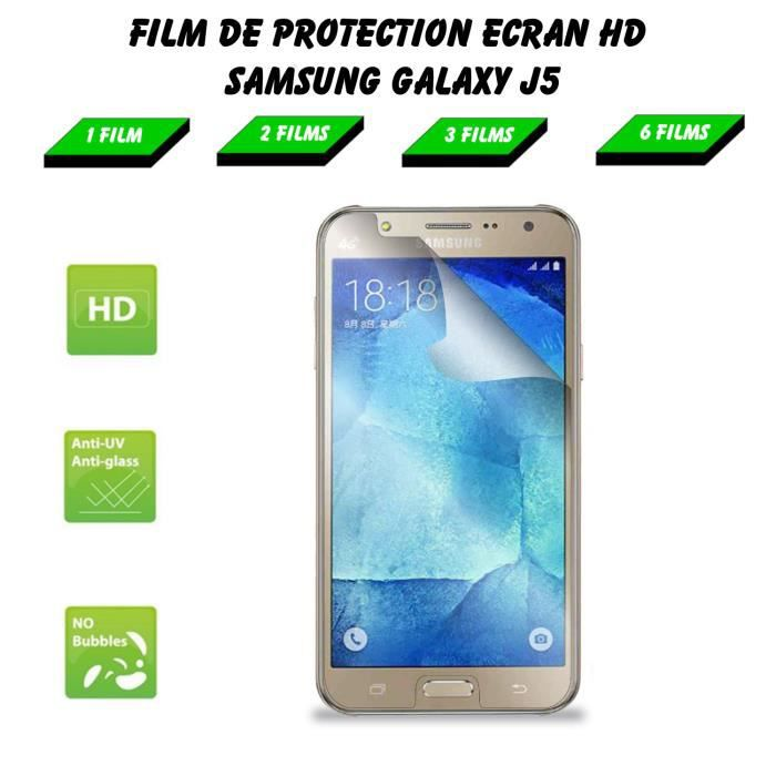 Galaxy j5 film protection ecran premium ultra clear hd for Photo ecran galaxy j5