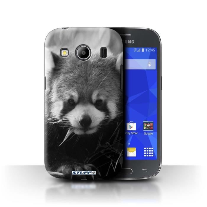 coque de stuff4 coque pour samsung galaxy ace 4 g357 raton laveur design animaux de zoo. Black Bedroom Furniture Sets. Home Design Ideas