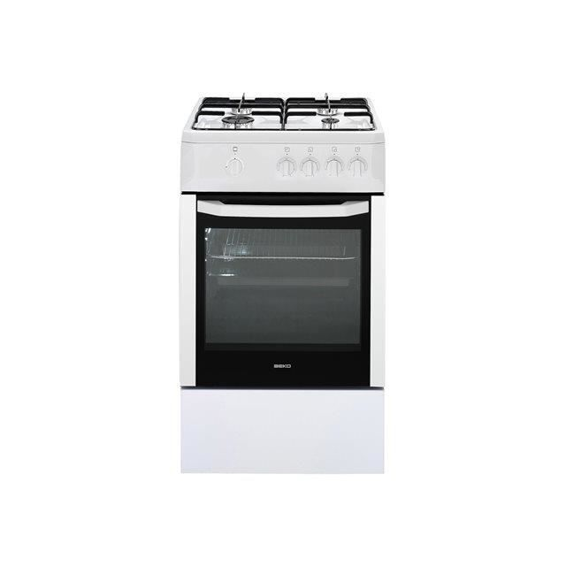beko csg52001dw 01 cuisini re tout gaz achat vente. Black Bedroom Furniture Sets. Home Design Ideas
