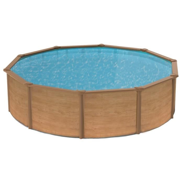 Trigano piscine m tal 3 90 x 1 20 m achat vente kit for Piscine metal