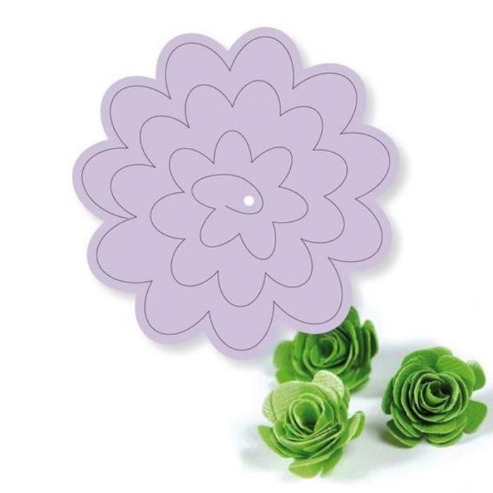 Simply Creative Acier Découpe Fleur