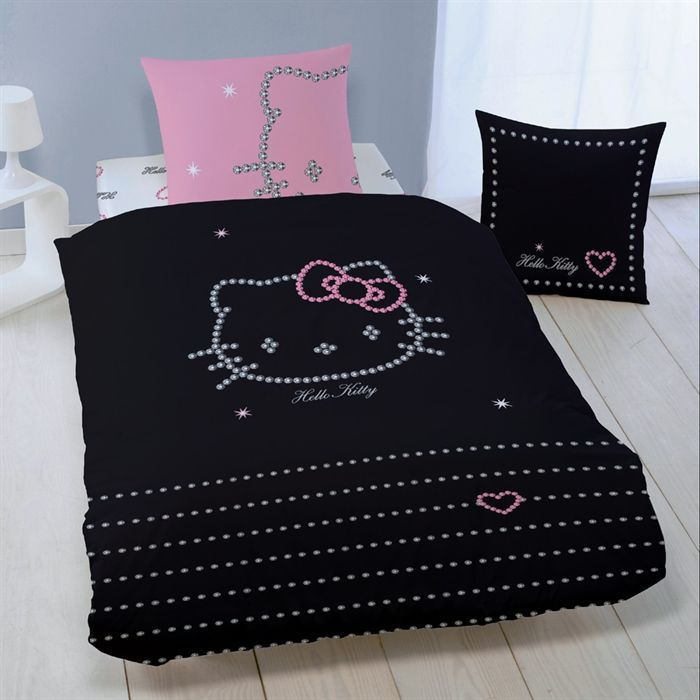 parure de couette 140 x 200 cm taie d 39 oreiller 63 x 63. Black Bedroom Furniture Sets. Home Design Ideas