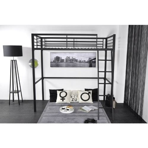 acheter lit mezzanine adulte. Black Bedroom Furniture Sets. Home Design Ideas