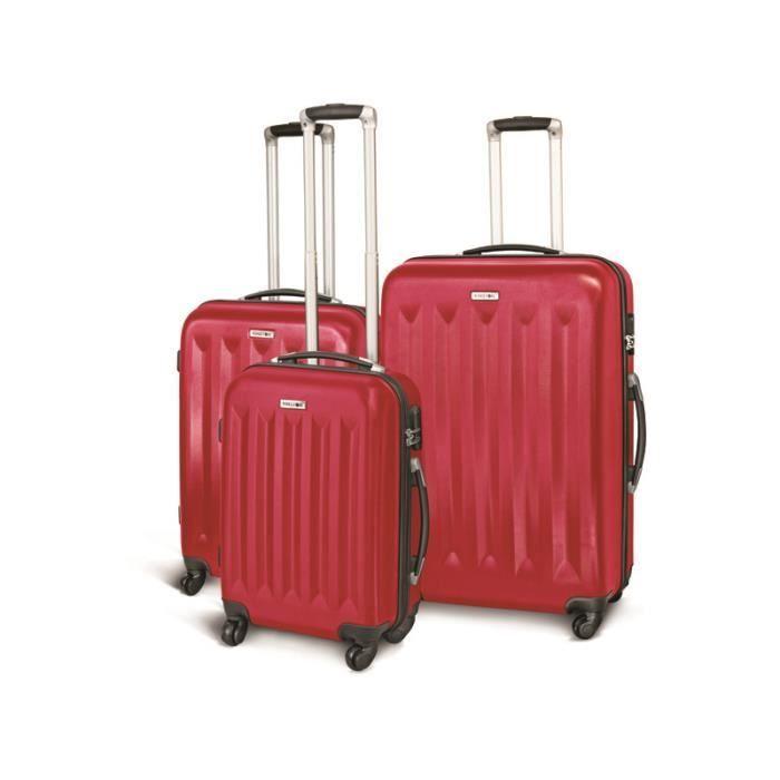 Carbon polycarbonate coque rigide valise voyage trolley set Bagages à Main papillon