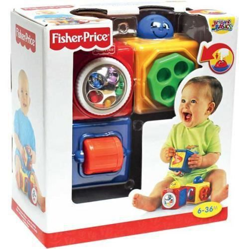 fisher price cubes d 39 activites achat vente cube veil cdiscount. Black Bedroom Furniture Sets. Home Design Ideas