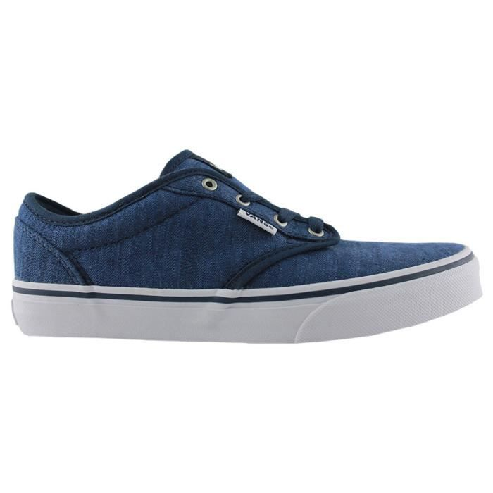 Vans Distress Dress wht Atwood Kids Basket Blue ORqSqx