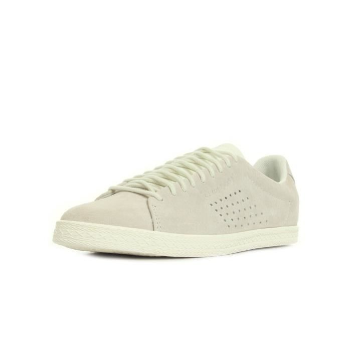 Baskets Le Coq Sportif Charline Nubuck Marchmallow