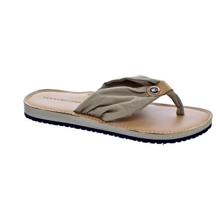 Tongs - Tommy Hilfiger Footbed BeachFemmeBeige 37