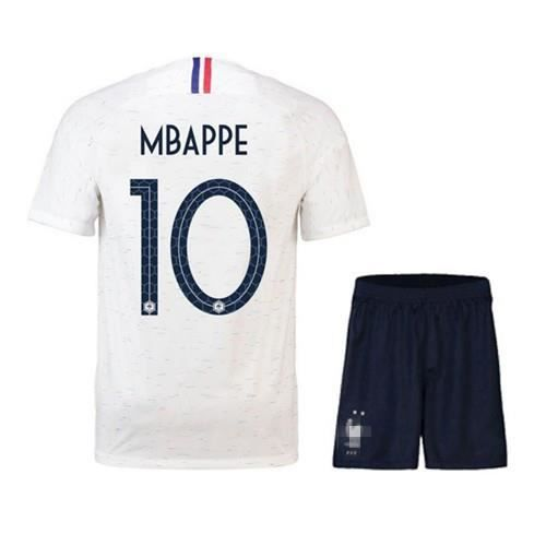 new arrivals factory outlets differently MBAPPE Maillot Equipe de france 2 étoiles - Maillot et Shorts de football -  Enfant Blanc