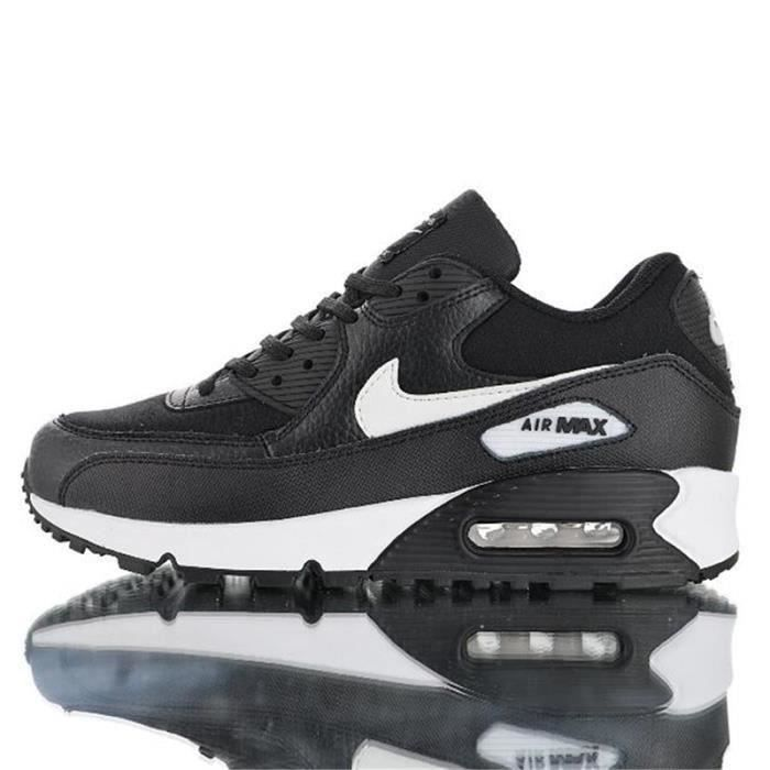 Basket Nike Air Max 90 Essential Noir chaussure pour Homme Femme ...