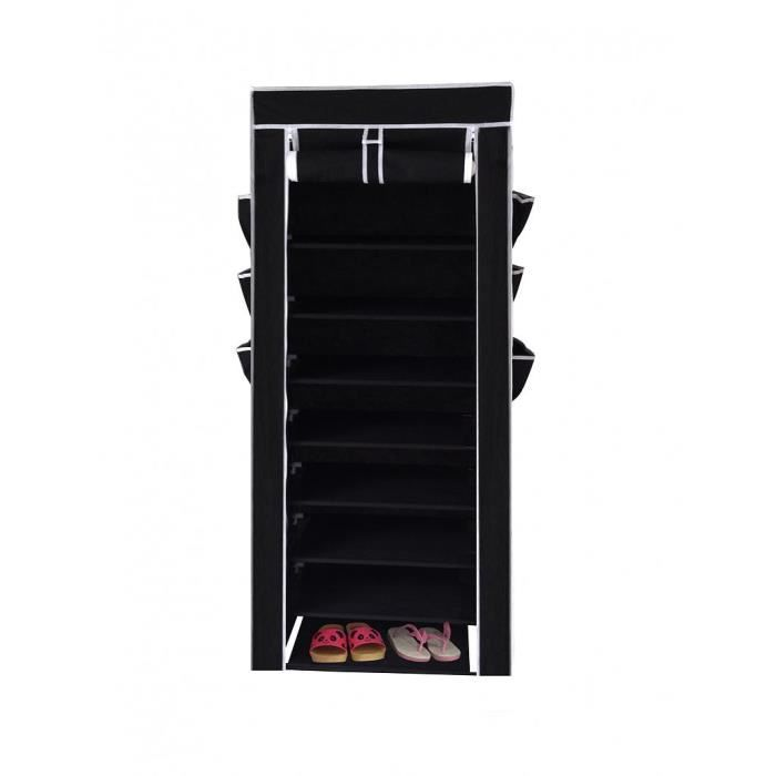 armoire chaussure en toile 10 tag res achat vente. Black Bedroom Furniture Sets. Home Design Ideas