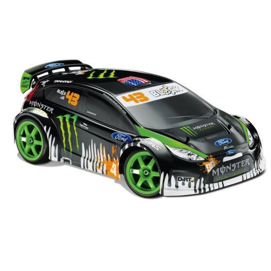 traxxas ken block gymkhana fiesta 2 4ghz 1 16 m achat vente voiture camion traxxas ken. Black Bedroom Furniture Sets. Home Design Ideas