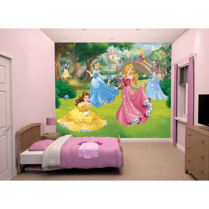 papier peint enfant disney princesse sticker g ant fresque. Black Bedroom Furniture Sets. Home Design Ideas