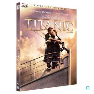 BLU-RAY FILM Blu-Ray 3D+2D Titanic + Bonus