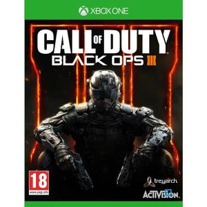 JEUX XBOX ONE Call Of Duty Black Ops III Jeu Xbox One