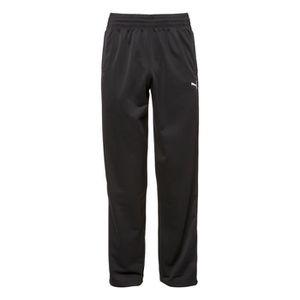 PANTALON DE SPORT PUMA Pantalon de survêtement Homme - Noir et blanc