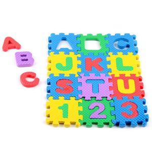JEU SOCIÉTÉ - PLATEAU Mini 36pcs Eva puzzle Kid Jouet alphabet lettres c