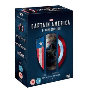 DVD FILM DVD COFFRET CAPTAIN AMERICA 1 et 3 (import italien