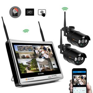 CAMÉRA DE SURVEILLANCE Jennov Kits de Caméra Vidéo surveillance sans fil