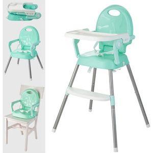 CHAISE HAUTE  Ecent Chaise haute enfant ultra-pliable réglable h