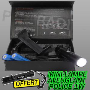SWAT POLICE 1000M LAMPE TORCHE 3500 LUMEN LED FLASHLIGHT AVEC 2x8800MAH 18650 #5