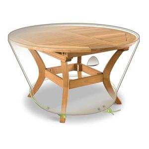Table jardin ronde 120 cm achat vente table jardin for Table ronde 52