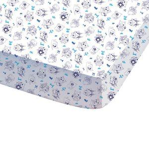 DRAP HOUSSE YO-KAI WATCH GAN Drap housse 100% coton 90x190 cm