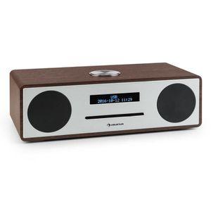 RADIO CD CASSETTE Auna Stanford Radio numérique Dab+-FM Écran LED di